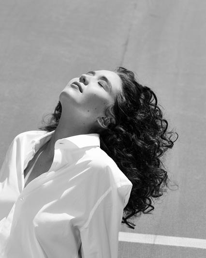 Fashion portrait of Actress Lauren Esposito