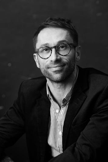 Studio portrait of Author Mark Brandi