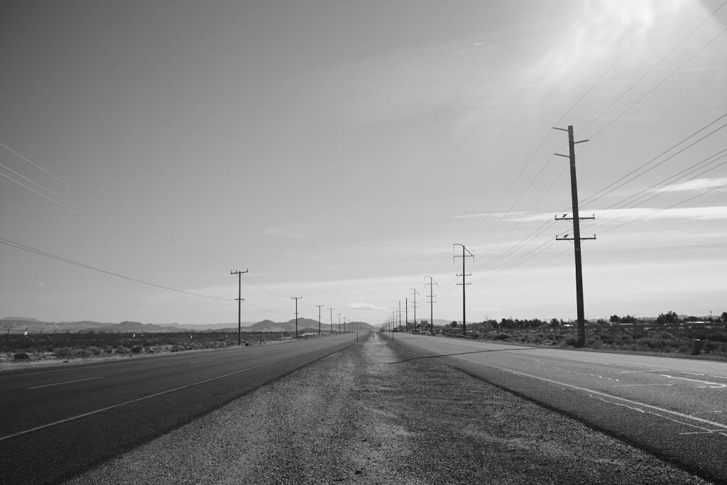 Landscape photography taken en route to Death valley 2019